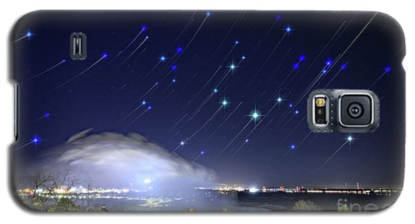 Star Trails Over Niagara River Galaxy S5 Case by Charline Xia