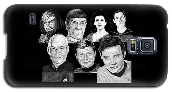 Star Trek Crew Galaxy S5 Case