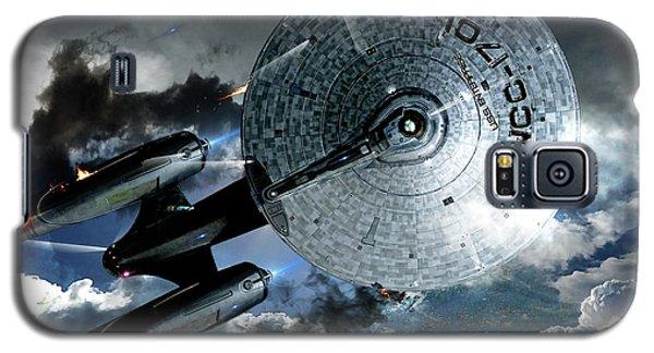Star Trek Into Darkness, Original Mixed Media Galaxy S5 Case by Thomas Pollart