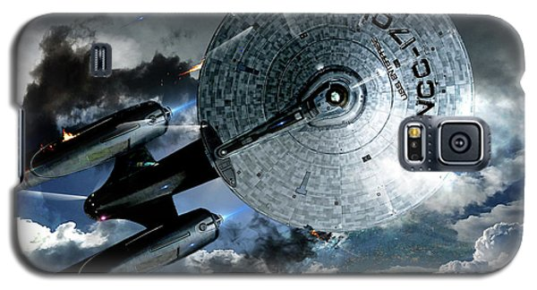 Johnny Carson Galaxy S5 Case - Star Trek Into Darkness, Original Mixed Media by Thomas Pollart