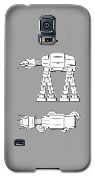 Star Wars Galaxy S5 Case - Star Wars - At-at Patent by Mark Rogan