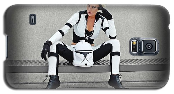 Star Wars By Knight 2000 Photography- Clone Trooper Galaxy S5 Case by Laura Michelle Corbin