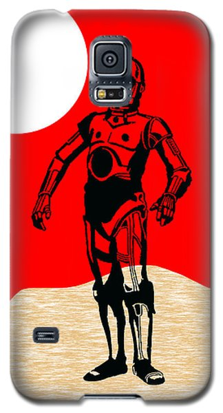 Star Wars C-3po Collection Galaxy S5 Case