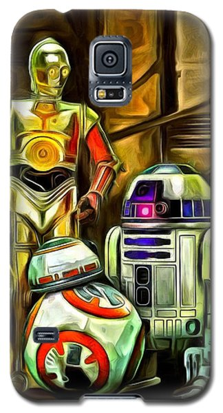 Star Wars Galaxy S5 Case - Star Wars Droid Family by Leonardo Digenio