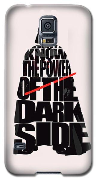 Star Wars Inspired Darth Vader Artwork Galaxy S5 Case