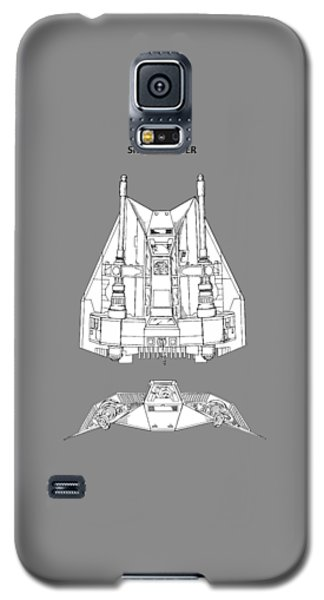 Star Wars Galaxy S5 Case - Star Wars - Snowspeeder Patent by Mark Rogan