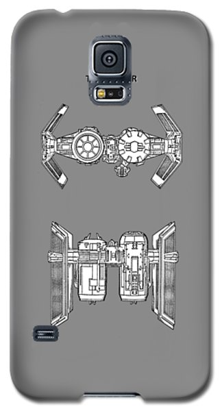 Star Wars Galaxy S5 Case - Star Wars - Spaceship Patent by Mark Rogan