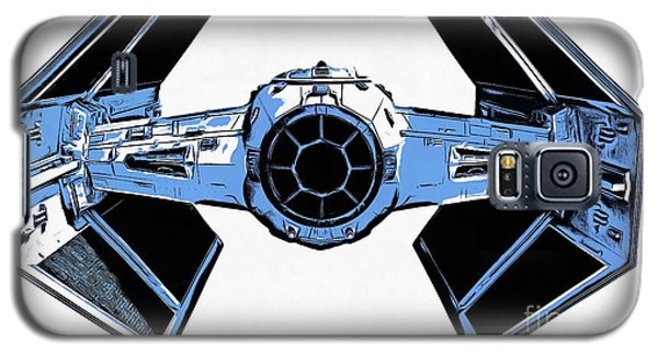 Star Wars Tie Fighter Advanced X1 Galaxy S5 Case by Edward Fielding
