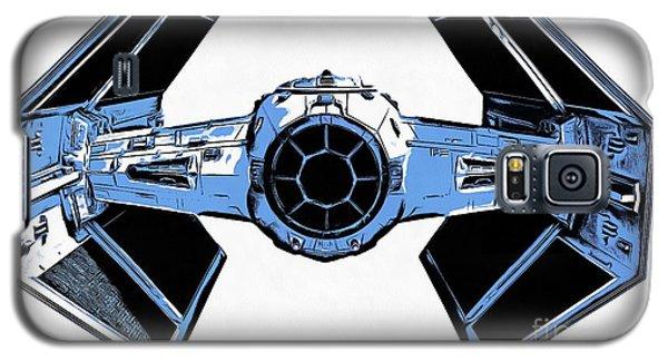 Star Wars Tie Fighter Advanced X1 Galaxy S5 Case by Edward Fielding