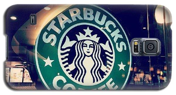 Bright Galaxy S5 Case - #starbucks #coffee #yummy #tasty #green by Bryan Thien