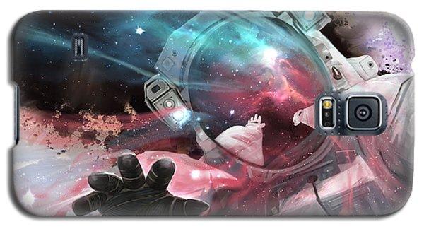 Galaxy S5 Case featuring the digital art Stardust by Steve Goad