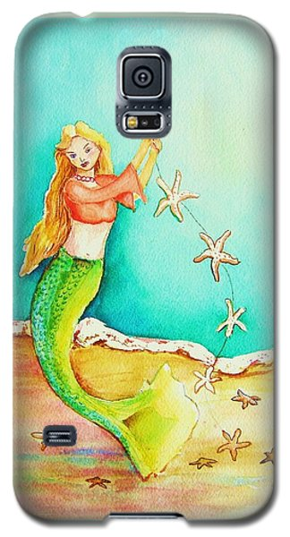 Starfish Mermaid Galaxy S5 Case by Patricia Piffath