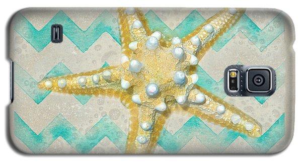 Starfish In Modern Waves Galaxy S5 Case by Sandi OReilly