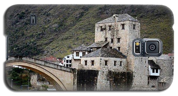 Stari Most Ottoman Bridge And Embankment Fortification Mostar Bosnia Herzegovina Galaxy S5 Case