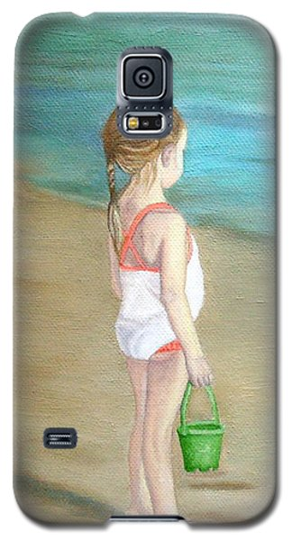 Staring At The Sea Galaxy S5 Case