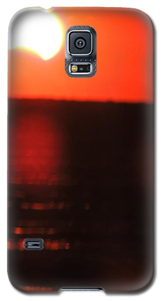 Staring Into A Star Eclipsed Galaxy S5 Case
