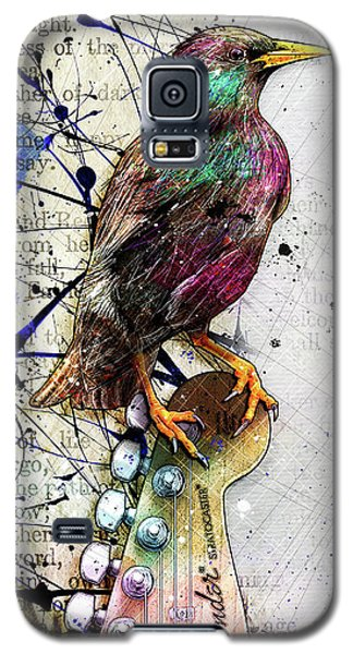 Starling On A Strat Galaxy S5 Case