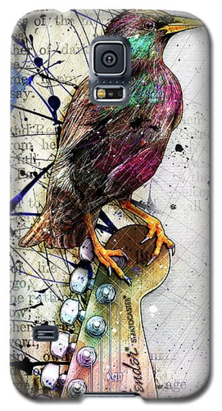 Starling On A Strat Galaxy S5 Case by Gary Bodnar
