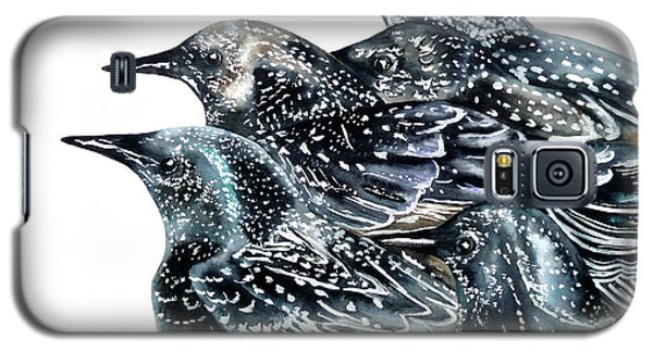 Starlings Galaxy S5 Case by Marie Burke