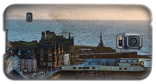 Starlings Over Aberystwyth On The West Wales Coast Galaxy S5 Case