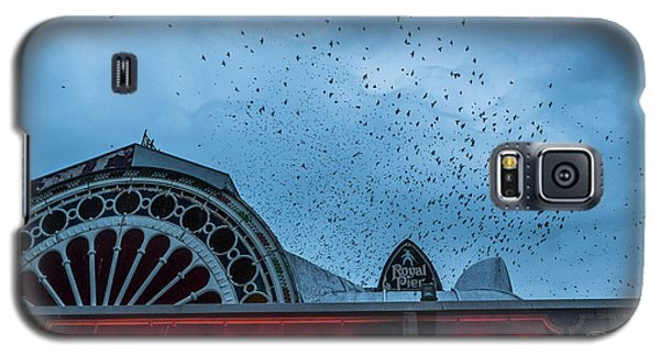 Starlings Over Aberystwyth Royal Pier Galaxy S5 Case