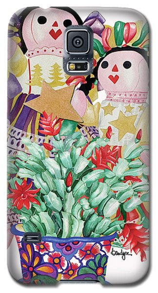 Starring The Christmas Cactus Galaxy S5 Case