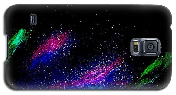 Galaxy S5 Case featuring the painting Starry Night 2 by Scott Wilmot