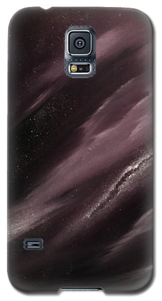 Galaxy S5 Case featuring the painting Starry Night 3 by Scott Wilmot