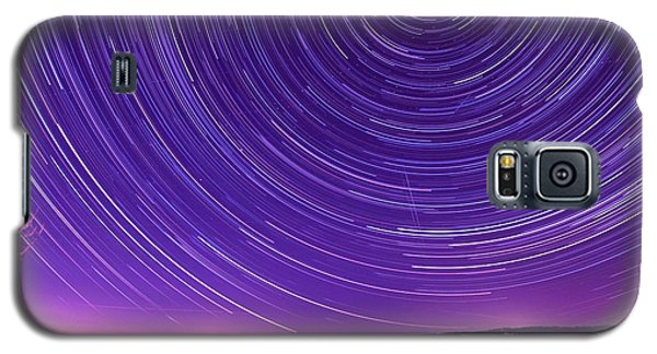 Starry Night Of Cayuga Lake Galaxy S5 Case by Paul Ge