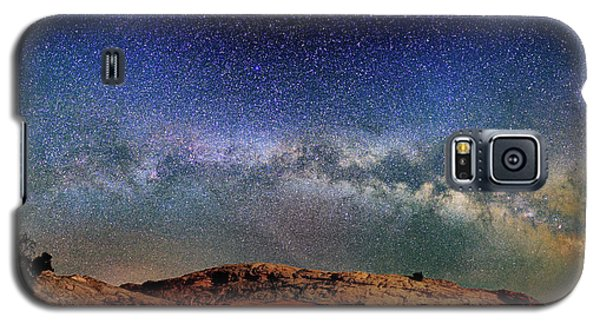 Starry Night Over Mesa Arch Galaxy S5 Case