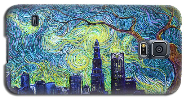 Starry Night Over The Queen City Galaxy S5 Case