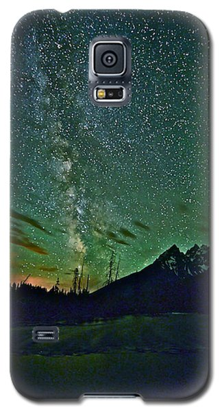 Starry Night Over The Tetons Galaxy S5 Case