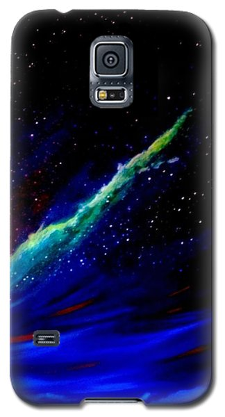Galaxy S5 Case featuring the painting Starry Night by Scott Wilmot
