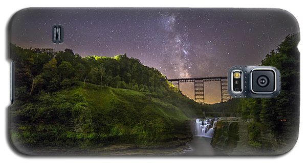Galaxy S5 Case featuring the photograph Starry Sky At Letchworth by Mark Papke