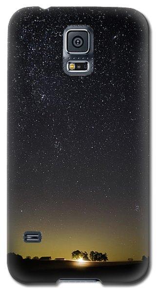 Starry Sky Over Virginia Farm Galaxy S5 Case