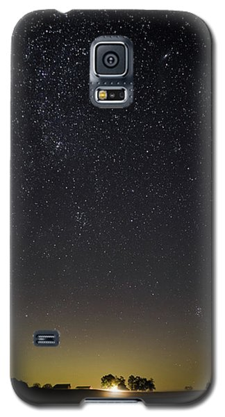 Starry Sky Over Virginia Farm Galaxy S5 Case