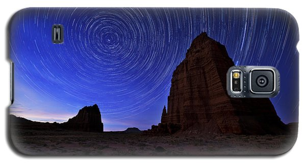 The Sky Galaxy S5 Case - Stars Above The Moon by Chad Dutson