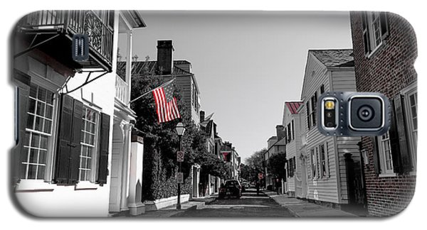 Stars And Stripes- Church St Charleston Sc Galaxy S5 Case