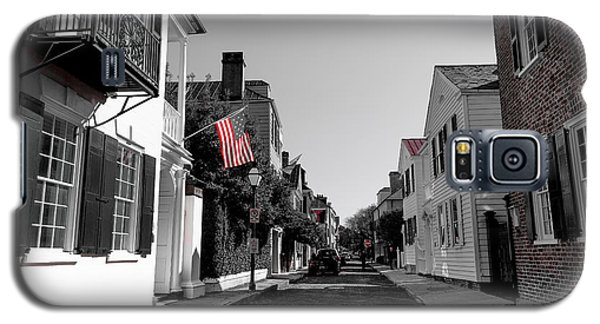 Stars And Stripes- Church St Charleston Sc Galaxy S5 Case