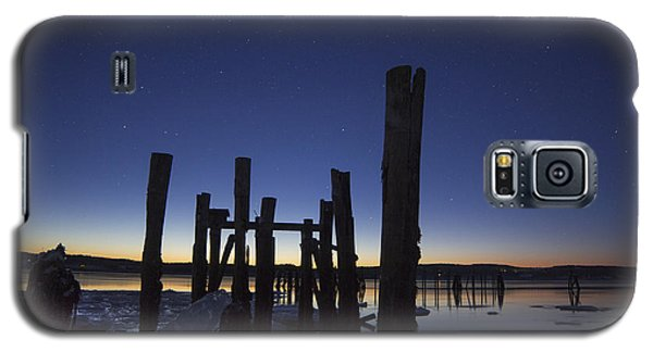 Stars At Sandy Point Sunrise  Galaxy S5 Case