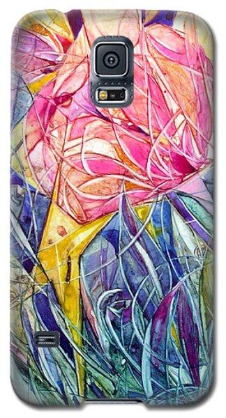 Stars In Eyes Flowers In Hand Galaxy S5 Case
