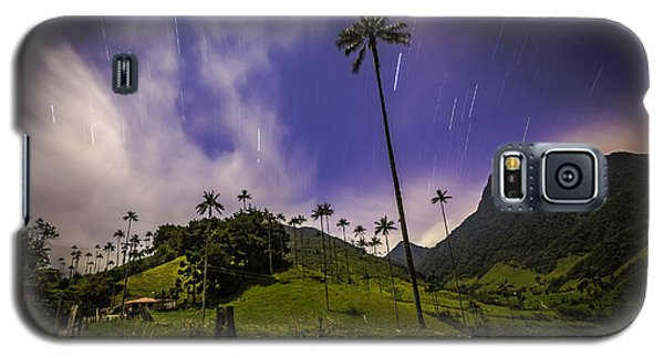 Stars In The Valley Galaxy S5 Case