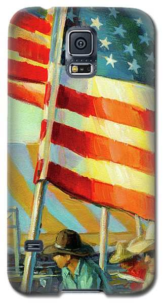 Stars, Stripes, And Cowboys Forever Galaxy S5 Case
