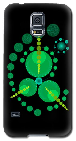 Starship Color Galaxy S5 Case by DB Artist
