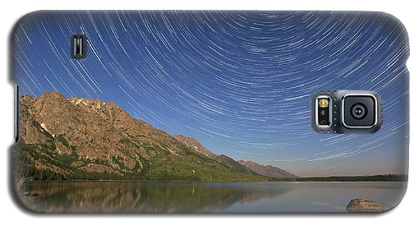 Startrails Over Jenny Lake Galaxy S5 Case