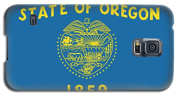 State Flag Of Oregon Galaxy S5 Case by American School