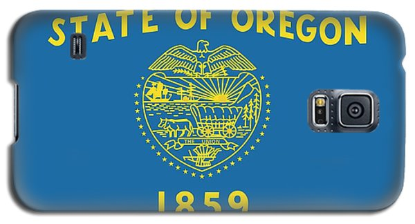 State Flag Of Oregon Galaxy S5 Case