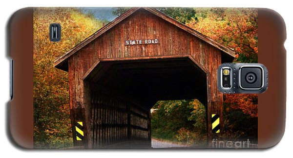 State Road Covered Bridge Galaxy S5 Case
