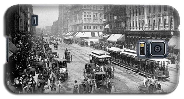 State Street - Chicago Illinois - C 1893 Galaxy S5 Case