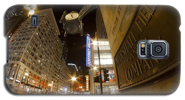 State Street Night Scene Galaxy S5 Case